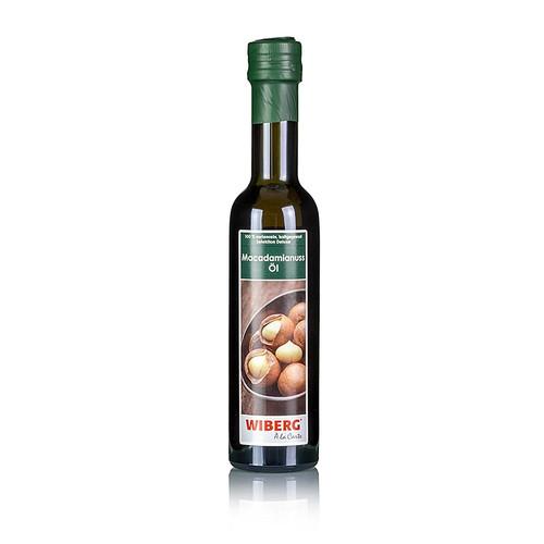 Wiberg Exquisite Macadamianussöl, 100% , kaltgepresst, mild nussig, 250 ml