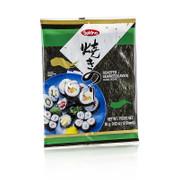 Yakinori ganze Größe, getrocknete Algenblätter, geröstet, aus Korea, 10 Blatt