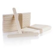 Holz-Spatel - Eisstiele, 2cm breit, 15cm lang, 100 St
