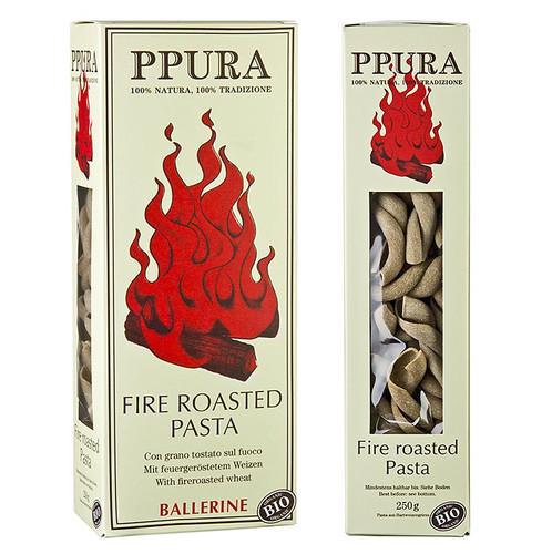 Pasta Ppura, Fire Roasted Ballerine, BIO, 250g