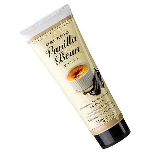 Bourbon-Vanille Extrakt-Paste, mit Stippen, Taylor & Colledge, BIO, 320g