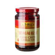 Chili Öl/Sauce Chiu Chow, mit Sojasauce und Knoblauch abgeschmeckt, Lee Kum Kee, 335g