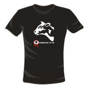 """LEKKER KLAMOTTEN by S. Stemberg, T-Shirt, schwarz, """"Oxenbacke"""", Gr. S, 1 St"""