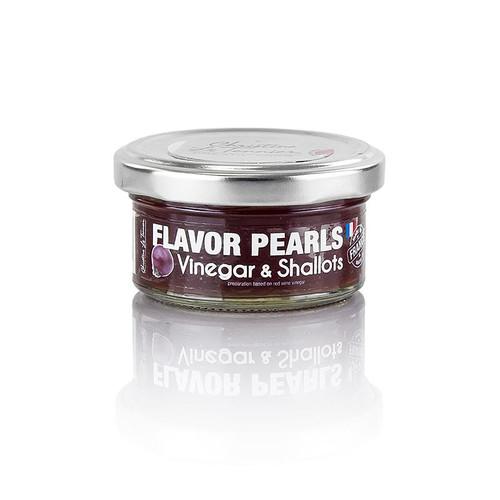 Fruchtkaviar  Schalotte-Essig , Perlgrösse 5 mm, Sphären, Les Perles, 50g