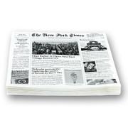 Snack Papier mit Zeitungspapierdruck, ca.290x300mm, New Fork Times, 500 Blatt
