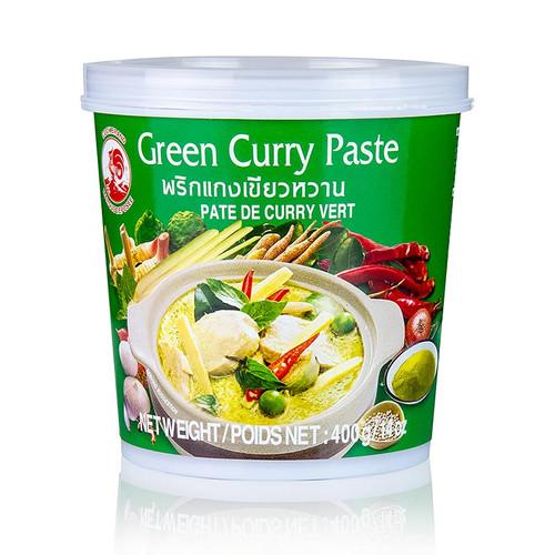 Curry Paste grün, (Cock Brand), 400g