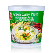 Curry Paste grün, (Cock Brand), 400g