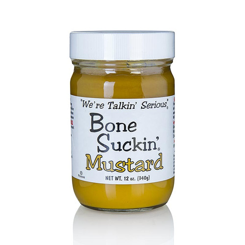 Bone Suckin´ Mustard Regular, BBQ Senf, Ford´s Food, 340g