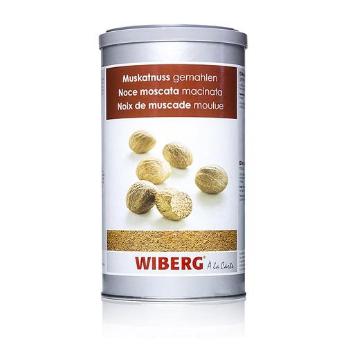 Wiberg Muskatnuss gemahlen 550g/ 1200ml Aroma-Tresor, 550g
