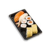 moSushi Snack Box, Premium Set, 4 Maki + 2 Nigiri + 2 Inside out, 8 St