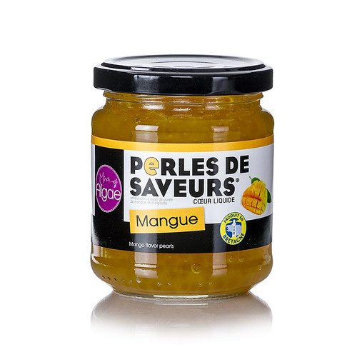 Fruchtkaviar  Mango , Perlgrösse 5mm, Sphären, Les Perles, 200g