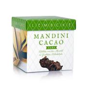 Teegebäck Mandini Cacao Dark, Mandelsplitter dunkel, Lembcke, 100g