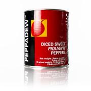 Pepperdew Kirschpaprika, gewürfelt, süß-pikant eingelegt, 3 kg