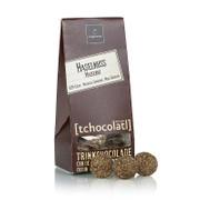 Coppeneur tchocolatl Trinkpralinés Haselnuss, 52% Kakao, BIO, 80g