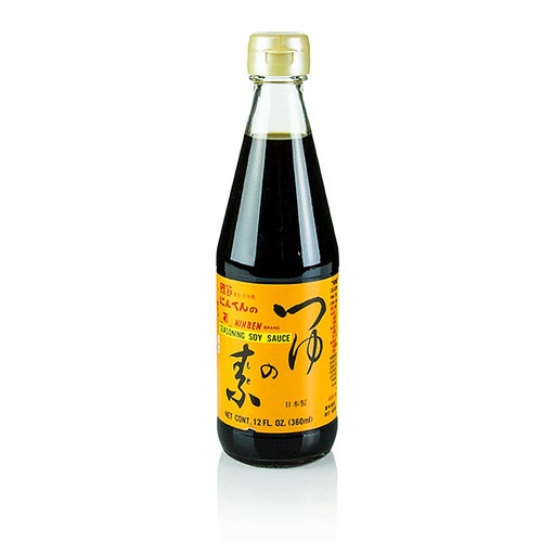 Tsuyu no Moto, Dashi Fond Basis mit Sojasauce, 360 ml