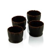 Schokoladenformen Snobinettes Mini Dunkel, 21mm h, Mona Lisa, 430g, 90 St