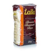Brauner Basmatireis, 2 kg, Laila, 2 kg