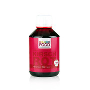 Colour Food Lebensmittelfarbe - Kirsch Rot, flüssig, vegan, 250g
