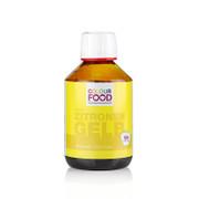 Colour Food Lebensmittelfarbe - Zitronen Gelb, flüssig, vegan, 250g
