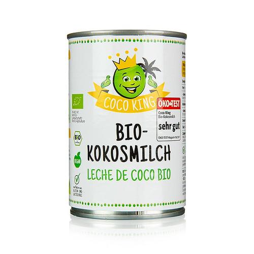 Dr. Goerg Coco King Kokosmilch, 400ml, BIO, 400 ml