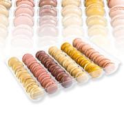"Macarons Mischung ""Frühling/Sommer"" Ø 4cm, 6 Sorten je 8 Stück á 12g, TK, Bridor, 576 g, 48 x 12g"