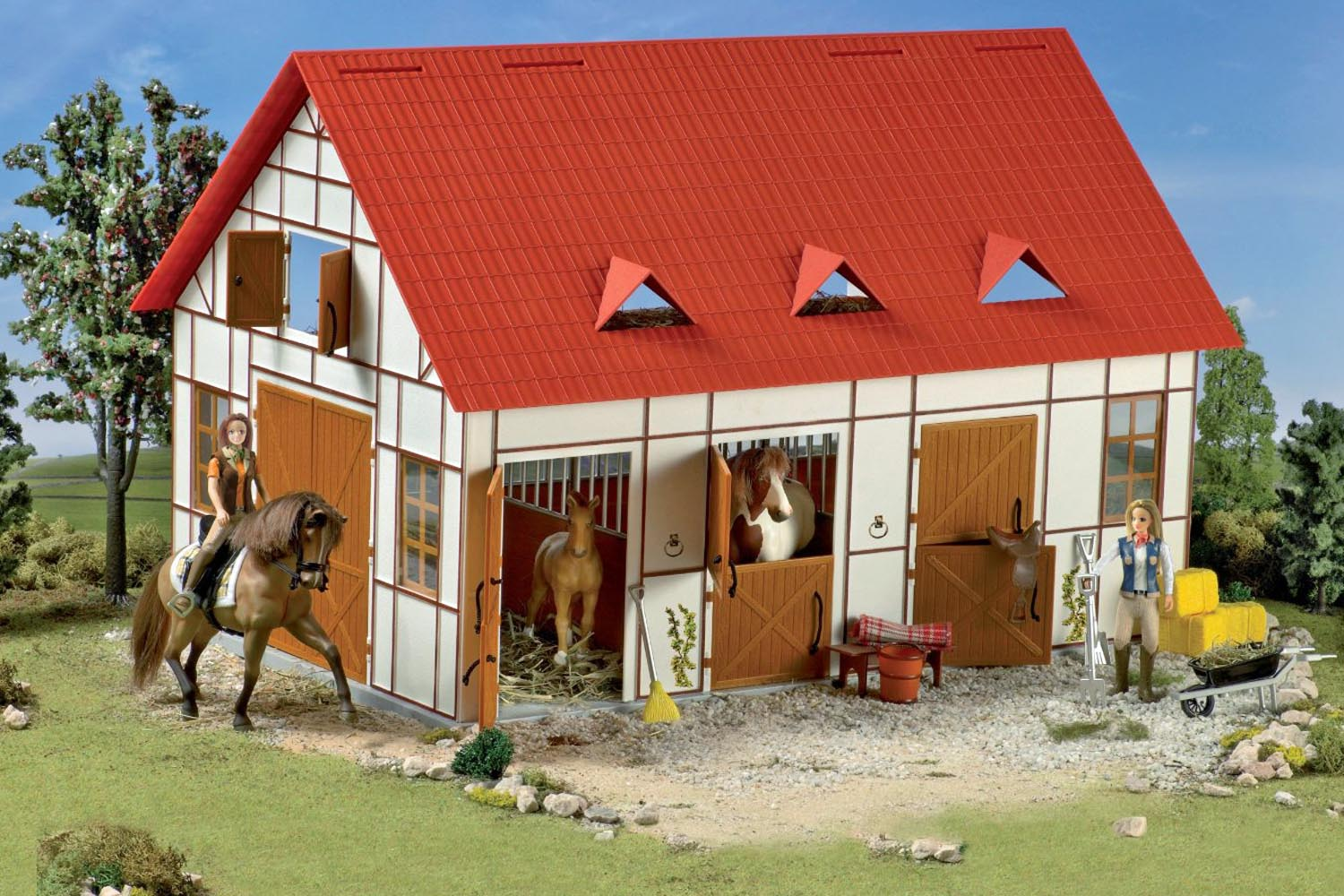 Saddle Pals Stall Horse Stable Pony Farm Box 1 12 Incl