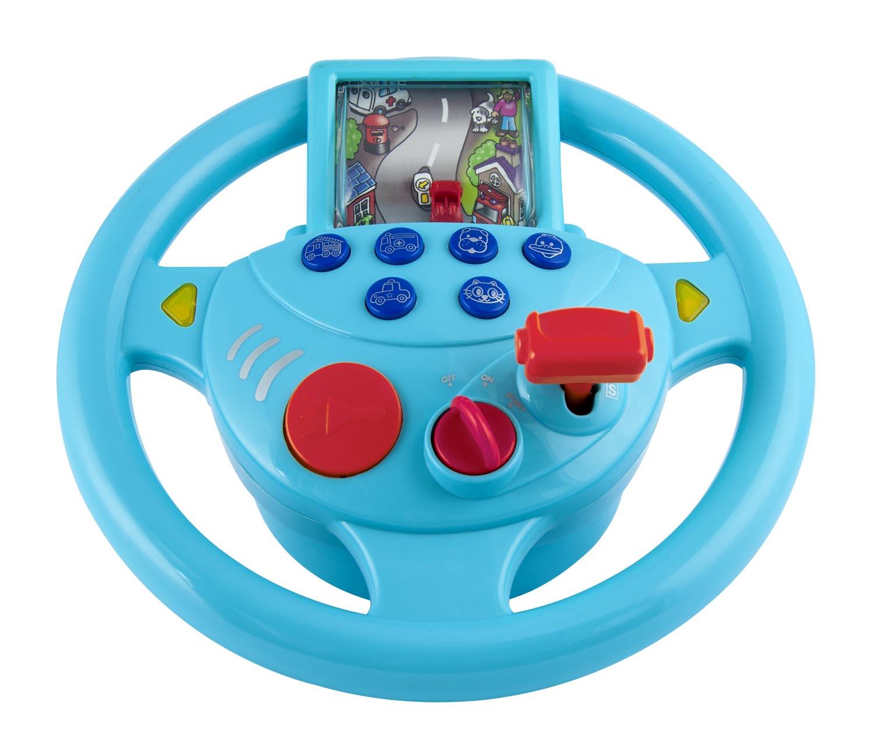 Auto cockpit beschreibung  WinFun Geräusche Sound Lenkrad Kinder Fahrsimulator Auto Cockpit ...