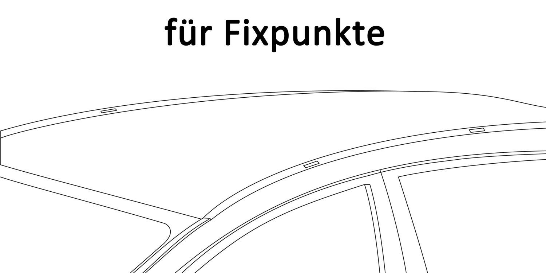 Dachträger Aurilis Original für Mercedes Citan Kasten 3//5Türer ab 12