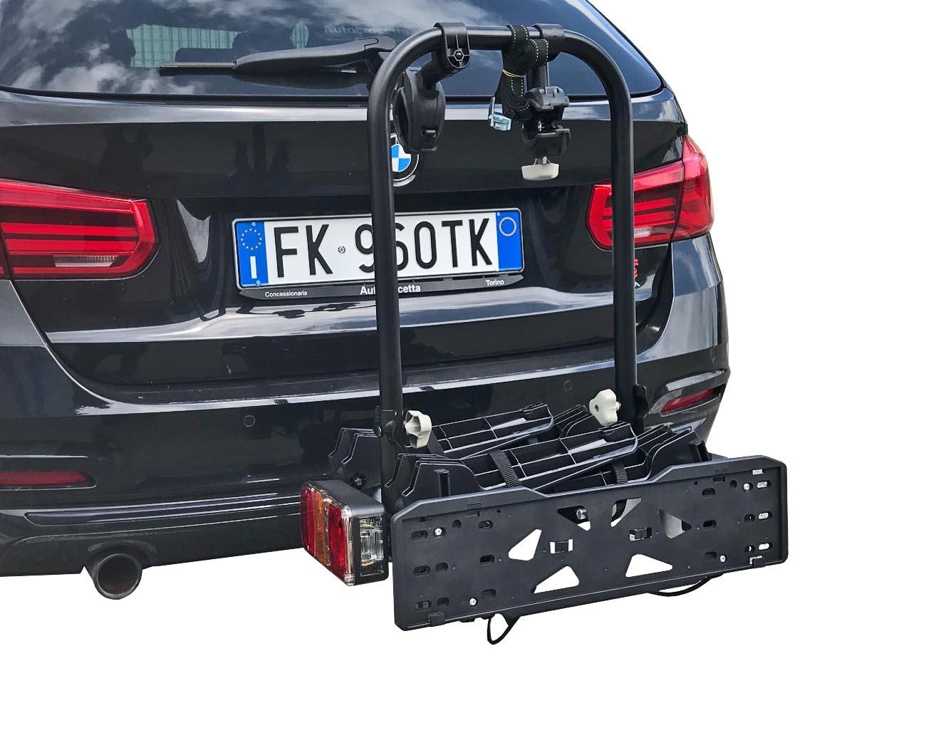 Fahrradträger GRV E-Bike Heckträger 3 Räder AHK Fahrradheckträger Fahrrad Träger