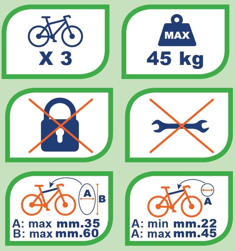 Heckträger Travel Fahrradträger kompatibel mit VW Passat B8 Variant ab 14