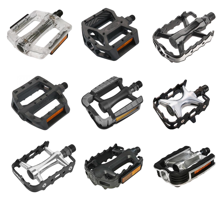 1 Paar BMX Pedale Alukörper Alukäfig 1//2 Achse Silber Freestyle BMX  06824 W