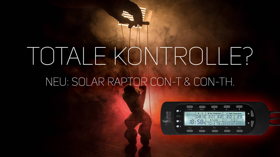 SolarRaptor Timer Controller CON-TH (Thermostat/Hygrostat)