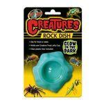 Zoo Med Creatures Rock Dish - Glow in the Dark