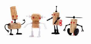 Monkey Business Korkenverzierung Corkers Robots Luke – Bild 4