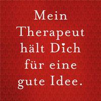 Sticky Jam 10011504 Kühlschrankmagnet Motiv - Therapeut
