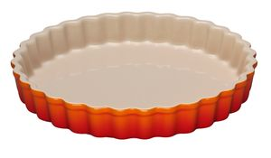 Le Creuset Tarte Form Farbe Ofenrot 28 cm
