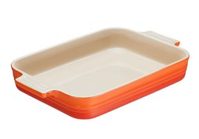 Le Creuset Auflaufform Farbe Ofenrot 24 x 32 cm