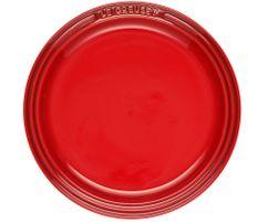 Le Creuset Teller Farbe Kirschrot 18 cm