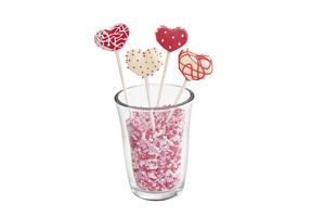 Lurch Flexiform Cake Pops Herz 20fach cotton candy