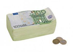 Spardose Euro Keramik