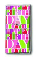 Paper & Design Taschentücher Motiv Geburtstag Happy Birthday to you