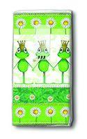Paper & Design Taschentücher Motiv Frösche Royal family