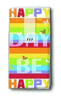 Paper & Design Taschentücher Motiv schöner Tag Happy Day