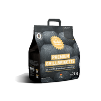 Premium Grillbriketts 2,5 kg made in Deutschland – Bild 1