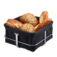 Gefu Brotkorb Brunch eckig schwarz