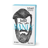 The Somerset Toiletry Herren Luxus Seife Mr. Manly mit feiner Salbei Duftnote 200 g – Bild 1