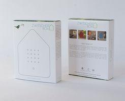 Zwitscherbox Klassik Front weiß Rahmen weiß – Bild 3