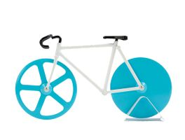 Doiy Pizzaschneider Fixie Motiv Fahrrad Farbe Antartica – Bild 1