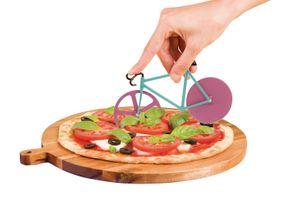 Doiy Pizzaschneider Fixie Motiv Fahrrad Farbe Watermelon – Bild 2