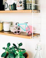 Doiy Pizzaschneider Fixie Motiv Fahrrad Farbe Watermelon – Bild 3